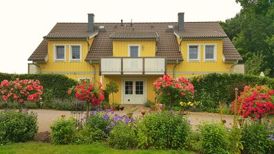 Newly built apartment, rural location, in the peaceful Spreewald - Wohneinheit Heuschober