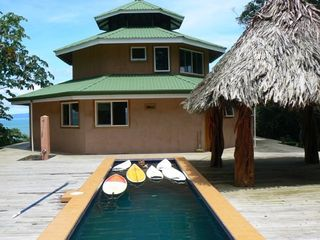 Playa Zancudo house photo - Pool, Deck, and Palapa...