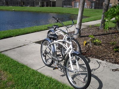 New bikes that guests may use.