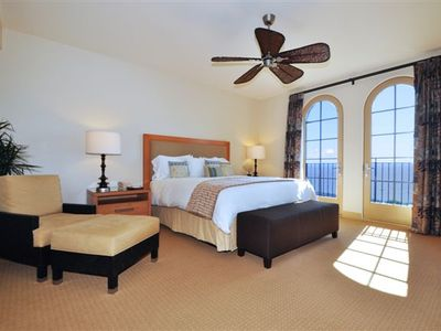Spacious Master Bedroom with Sitting Area