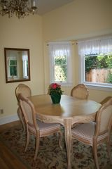 Santa Barbara house photo - View the organge tree from your sunny dining room spot