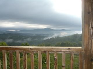 Clayton cabin photo - Sometimes we are above the clouds