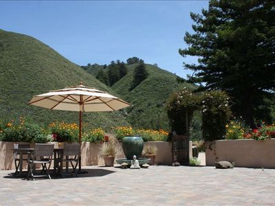 Welcome to Heart Circle Mountain's courtyard. Come rejuvenate & relax!