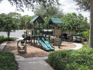 Emerald Island townhome photo - One of the kids park