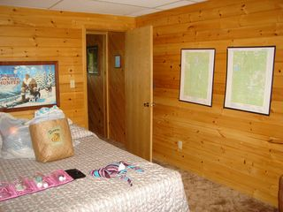master bedroom - Lyman Lake house vacation rental photo
