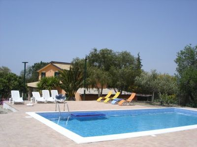 Villa with pool for your holiday in Agrigento (Valley of Temples)