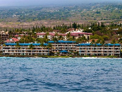 Kona Reef complex from the ocean
