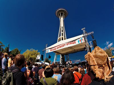 Seattle has festivals year round