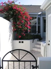 Bradenton condo photo - Private Courtyard; private driveway & garage