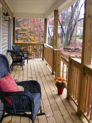 Black Mountain cottage photo - Rocking Chair View