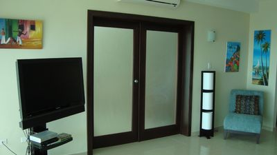 Curacao condo rental - French Door