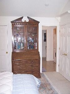 ~Entrance To XL Walk-in Closet With Master Shower~