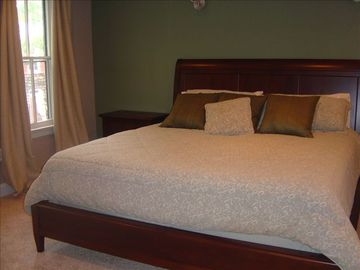 Spacious Master Bedroom with King Bed