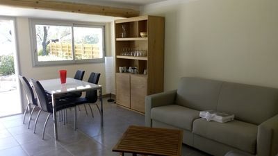 Cottage on one floor nine 4+ people 2 km from the center of Nyons