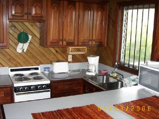 Roatan house photo - Casita Kitchen and Eating Area