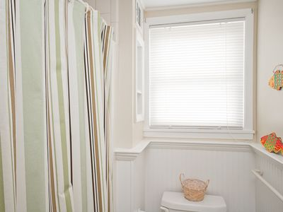 Tybee Island cottage rental - Second bath with shower only. No tub.