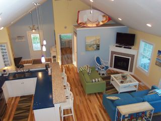 South Haven house photo - Open Floor Plan-View from Loft