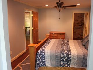 Winston-Salem farmhouse photo - Relax in our second floor bedroom w/Queen bed and full bath.