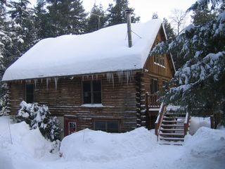 Jay Peak cabin photo - Let it snow ...let it snow...let it snow!!!