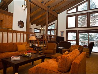 Vail house photo - Spacious Living Area - Floor-to-Ceiling Windows