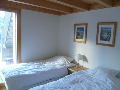 Wengen apartment rental - Another Twin Bedroom