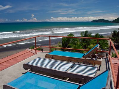360 degree SURF views on 2.5 mile Jaco Beach