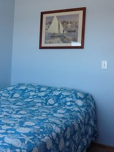Oceanfront Bedroom (same in both 3 & 4 Bedroom Rentals)