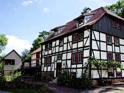 Cosy apartment on upper floor of a historic watermill