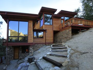Idyllwild house rental - 360 degree views from every room in the house make Jay's View one to remember.