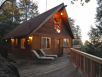 Idyllwild cabin rental - Twilight at Naughty Pines