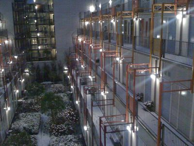 Old Center apartment rental - Internal courtyard (winter view)