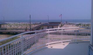 Atlantic City house photo - Massive front balcony for hanging or sun bathing - includes seating