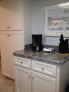 New Smyrna Beach condo rental - Kitchen and pantry