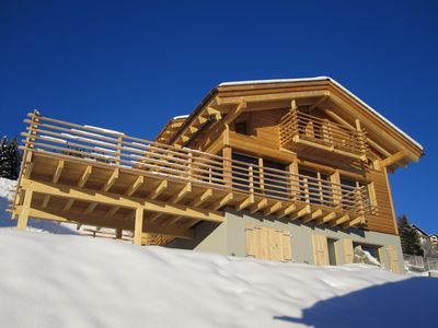 Chalet Arc-en-Ciel Winter All included ex electricity