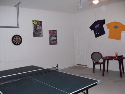 Games room Table tennis