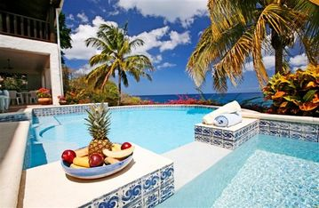 Castries villa rental - Tropical Paradise at La Paloma
