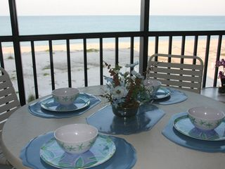 Boca Grande condo photo - Enjoy Breakfast on Lanai Overlooking the Gulf