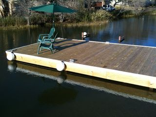 Granite Shoals house photo - Boat Dock with cleats and bumpers!