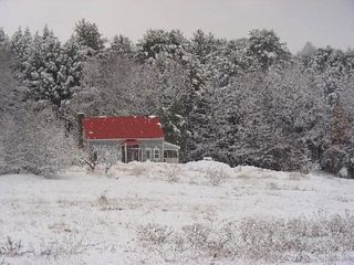Rockingham cottage photo - Snowy Day