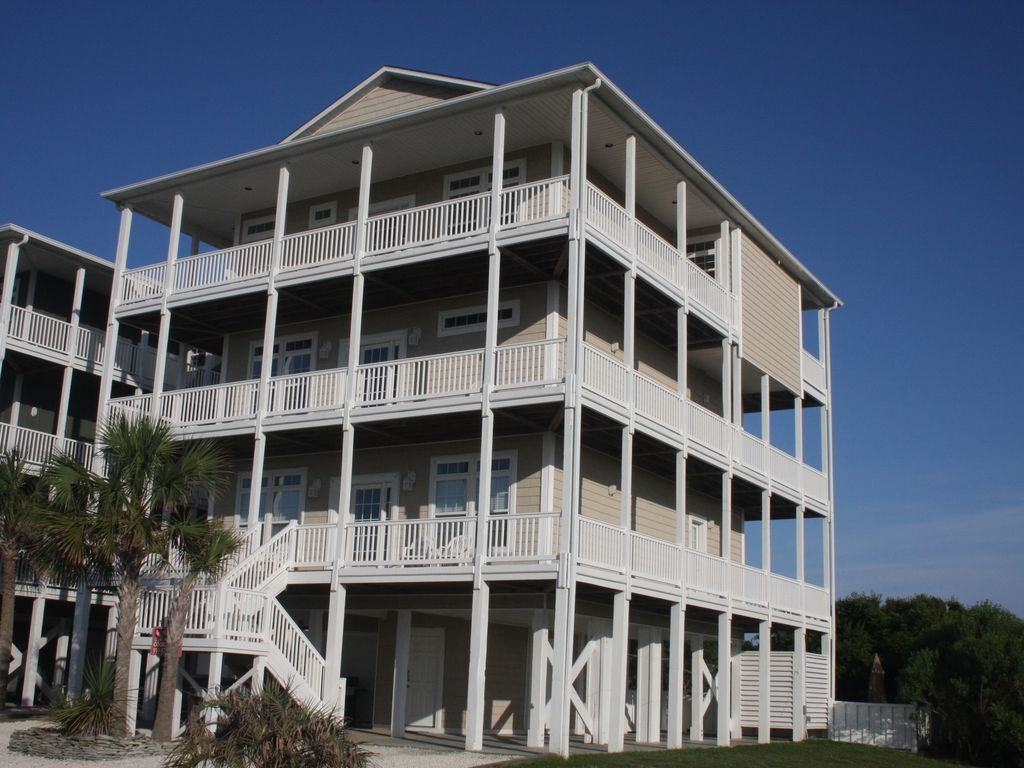 8br 4 king suites oceanview elevator homeaway for Beach house elevator cost