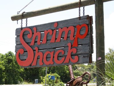 The Shrimp Shack is a favorite restaurant and is an icon of the area
