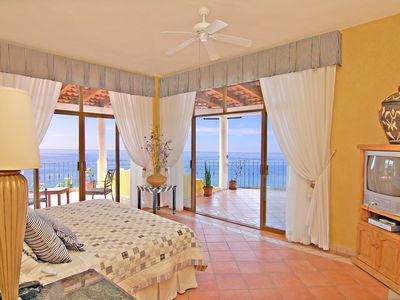 The Master Bedroom Opens On The Wraparound Terraza And The View Is Magnificent!