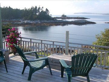 View of Cove & Bay from Lower Deck