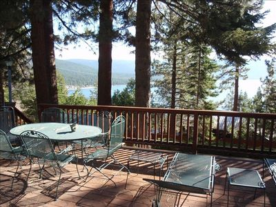 Crystal Bay house rental - Spectacular views of Lake Tahoe! Cooling breezes in the summer.