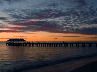 Princeville house photo - Hanalei Bay Pier sunset...perfect Kauai!