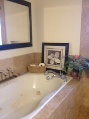 Melbourne Beach condo photo - One of Two Jacuzzi Tubs - Guest Bathroom