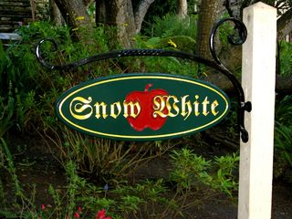 Carmel cottage photo - Snow White sign in front yard