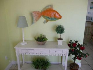 El Centro Beach house photo - Colorful fish over accent table was made by the owner!