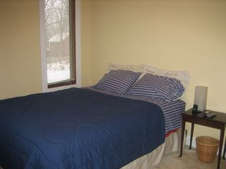 New Buffalo house photo - bedroom 2 with queen bed