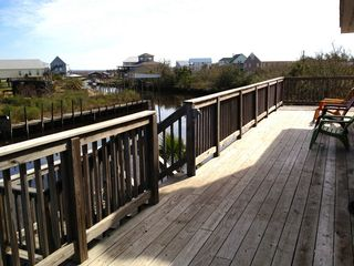 Bay St. Louis house photo - View of canal from the wrap around deck